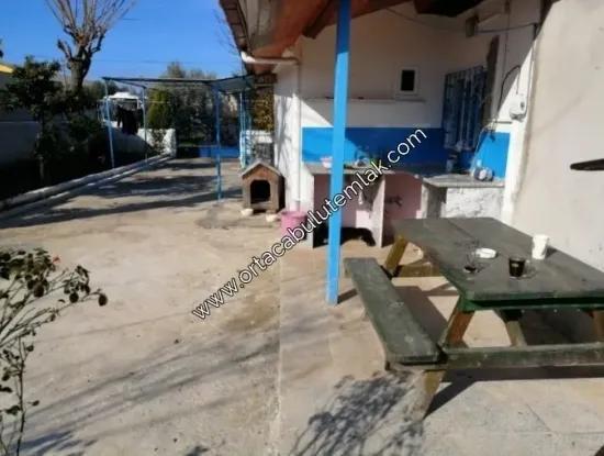 Freistehendes Haus Im Dorf Zum Verkauf Mugla Bezirk Auf 516 M2 Grundstück Oriya Der Republik