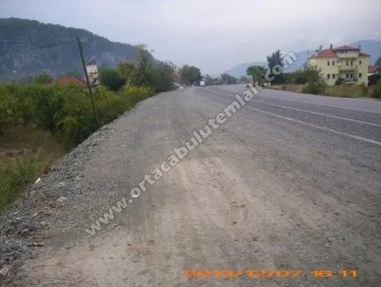 Oriya Zero Plot For Sale Okcular Muğla Neighborhood From The Main Road You Also