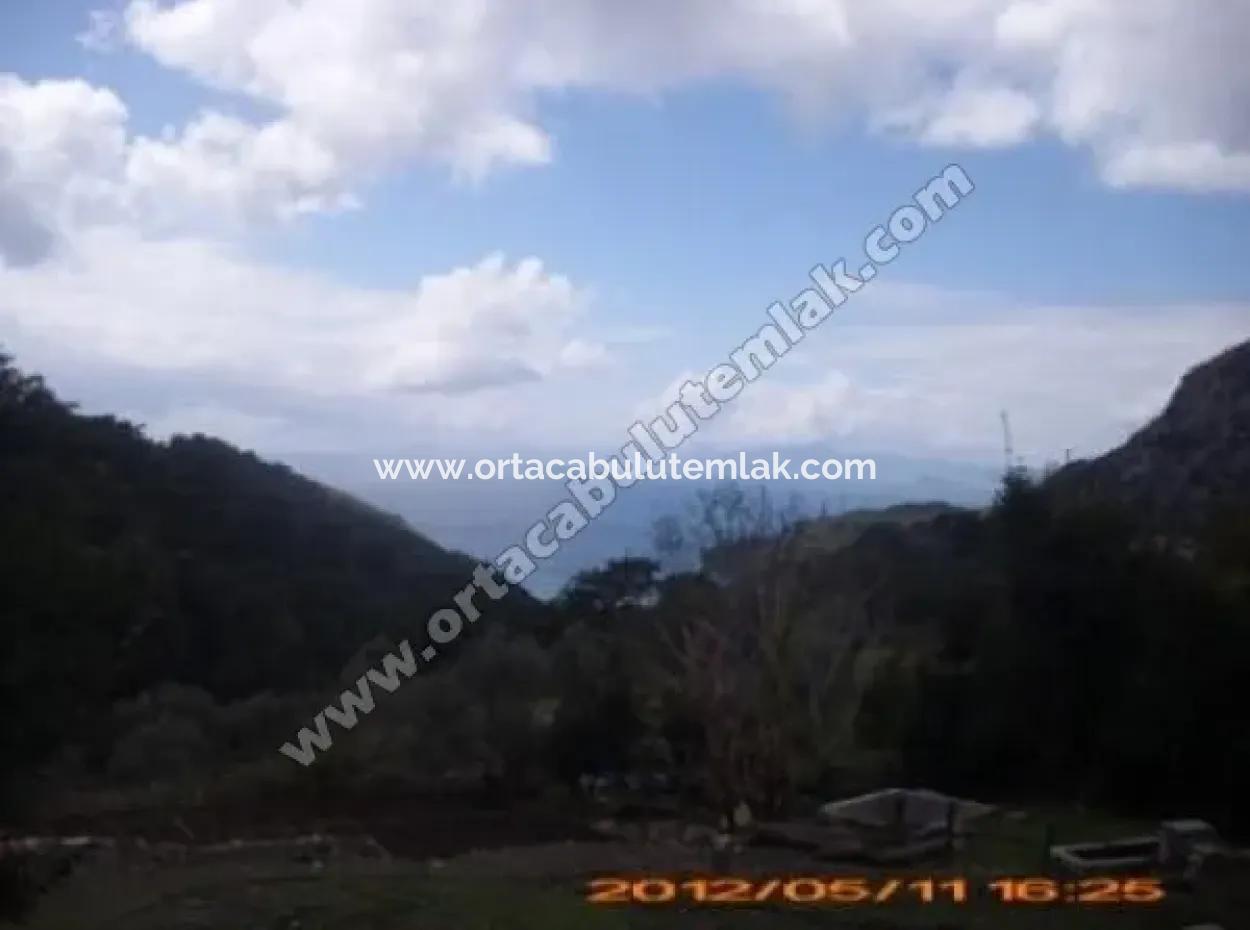 Muğla Ortaca Dalyan Gökbel Köyün De Satılık Deniz Gören Arsa Satılık
